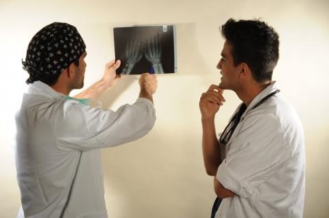 Neurochirurgischer Unterricht am Krankenbett