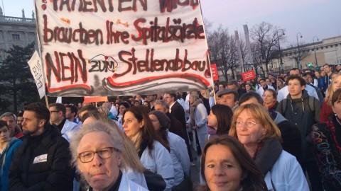 KAV-Spitäler: 92,78 Prozent der Ärzte im Bedarfsfall streikbereit