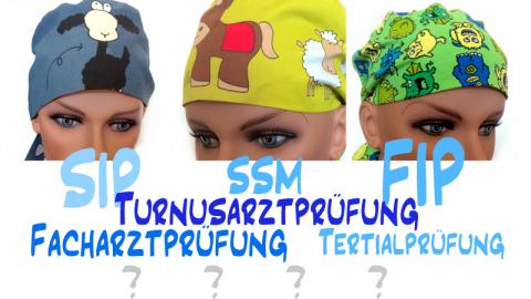 Gewinnspiel: Schick uns deine Prüfungsfragen und gewinne eine von 3 lustigen OP-Hauben!
