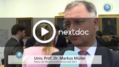 Pressekonferenz zur Zukunft der MedUni als Video
