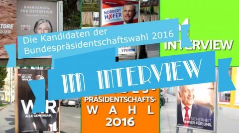 Präsidentschaftswahl 2016: Alle Interviews