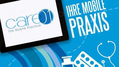 Care01: die mobile Praxisverwaltungssoftware