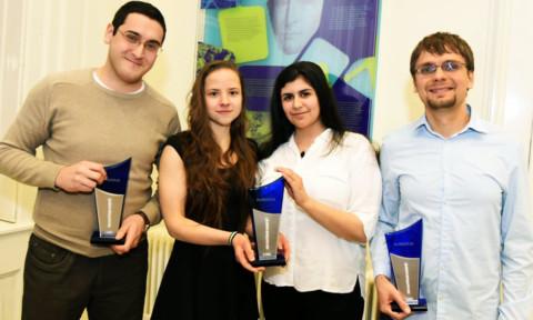 """""""Be Curious Award"""" für Nachwuchsforscher verliehen"""