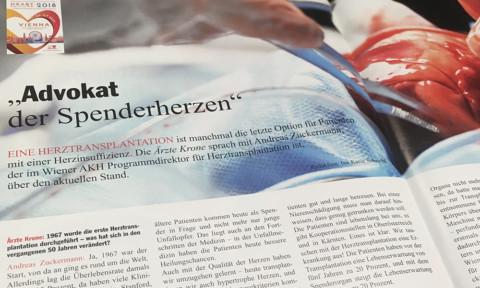 "Herzinsuffizienz: ""Advokat der Spenderherzen"""