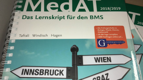 Rezension: MedAT 2018/19. Das Lernskript zum BMS