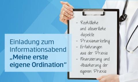 Veranstaltung: Meine erste eigene Ordination
