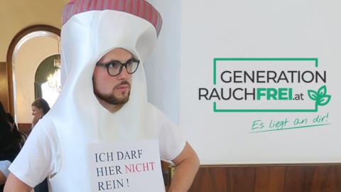 """""""Don't smoke"""": Volksbegehren endet bald"""