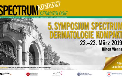 5. Symposium Spectrum Dermatologie Kompakt