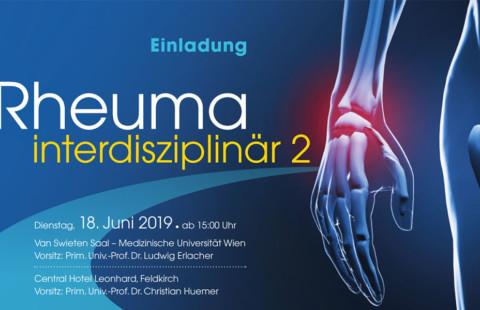 Fortbildung: Rheuma interdisziplinär 2