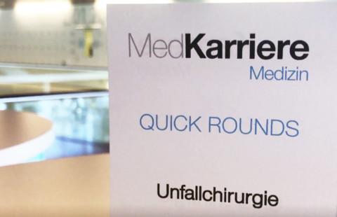 MedKarriere Innsbruck 2019: Quick-Rounds